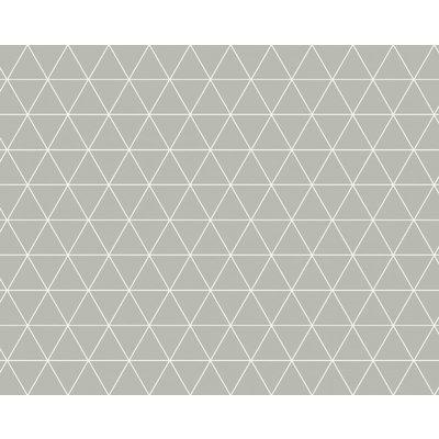Wachstuch Dreieck Grau