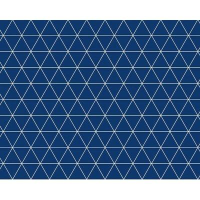 Wachstuch Dreieck Blau