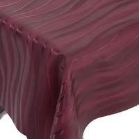 Beschichtetes Tischdecke Deluxe Zafiro Rot