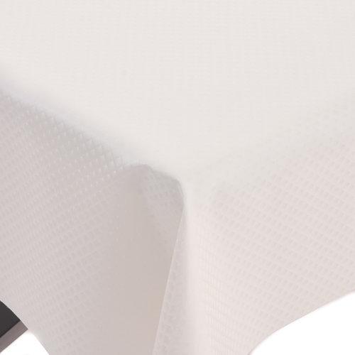 Beschichtetes Tischdecke Deluxe Zafiro Weiß
