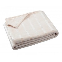 Plaid Clyde Crème 130 x 160 CM