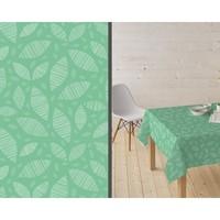 Beschichtetes Tischleinen Ennis Grün