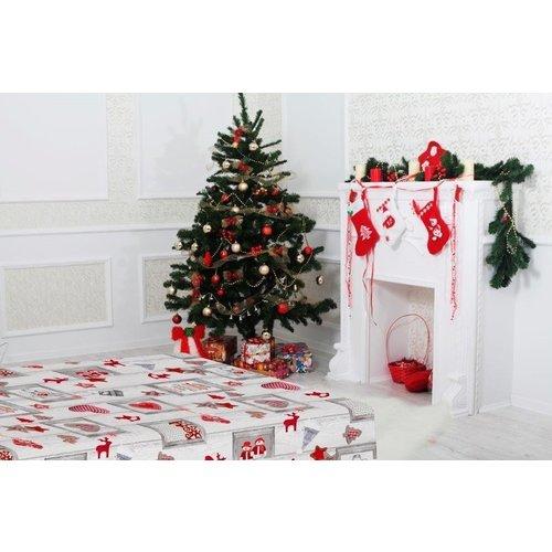 Wachstuch Aure Weihnachten