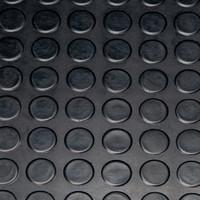 Gummi Mat Bolzen - Nach Maß - 3mm
