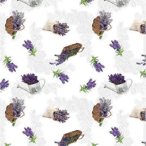 Wachstuch Lavendel