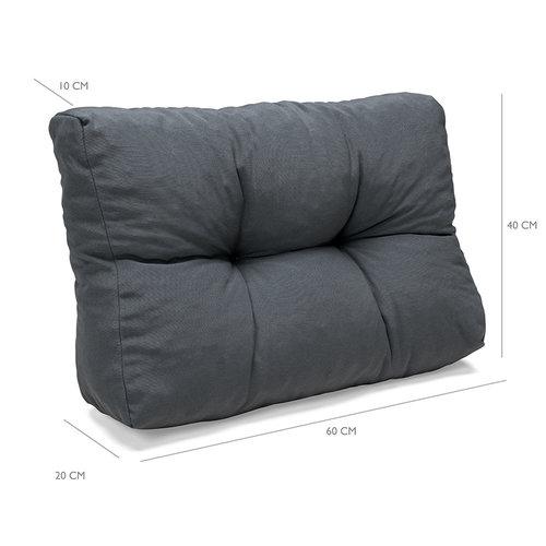 Paletenkissens Comfort Grau