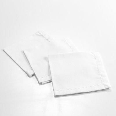Servietten Charline 40x40 CM Weiß