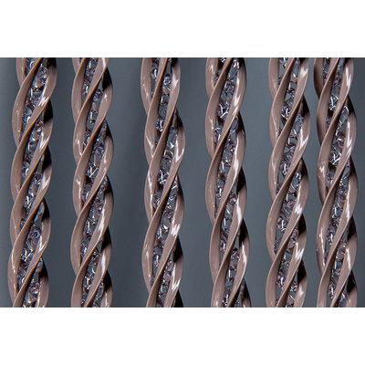 Fliegenvorhang PVC TranHolment - Taupe