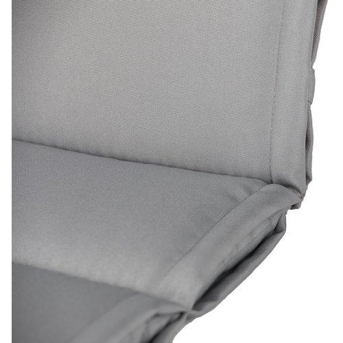 Tuinstoelkussen Premium 123 x 50 x 3 CM - Grau