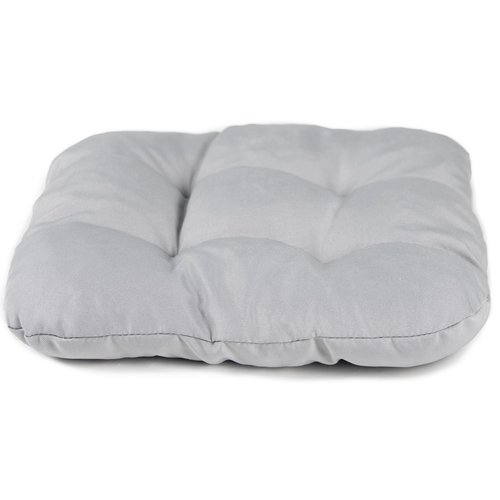Stoelkussen Comfort Grau 40 x 40 x 8 CM