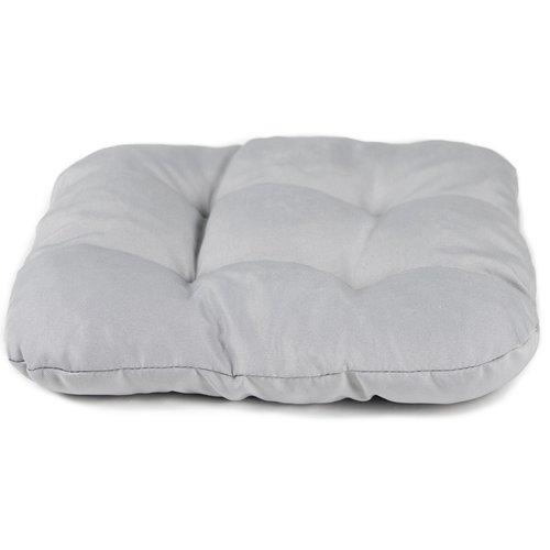 Stuhlkissen Comfort Grau 40 x 40 x 8 CM