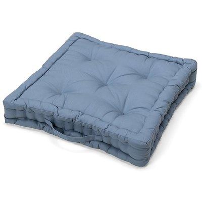 Matratzenkissen Baumwolle Blau