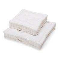 Matratzenkissen Baumwolle Weiß