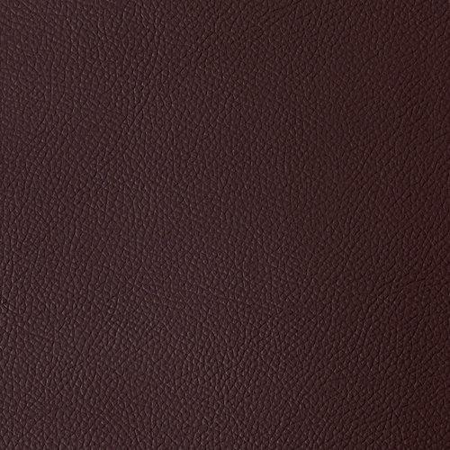 Tischdecke Kunstleder Braun 140 CM