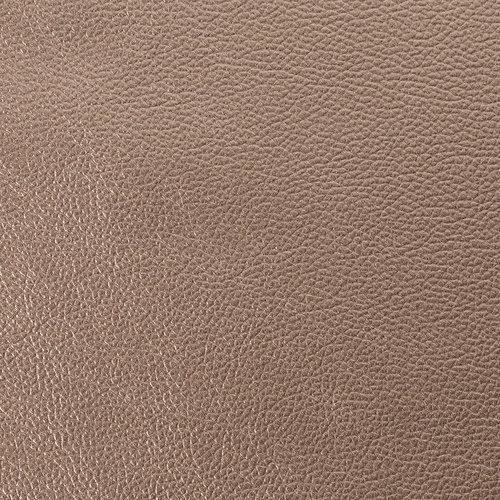 Tischdecke Kunstleder Metallic Bronze140 CM