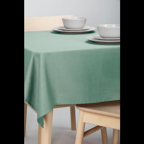 Tischdecke Dordogne Uni Grün 140 x 250 CM