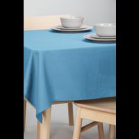 Tischdecke Dordogne Uni Blau 140 x 250 CM