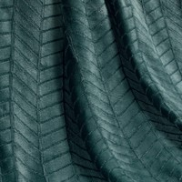 Kuscheldecke Zema Petrol Grün 125x150 CM