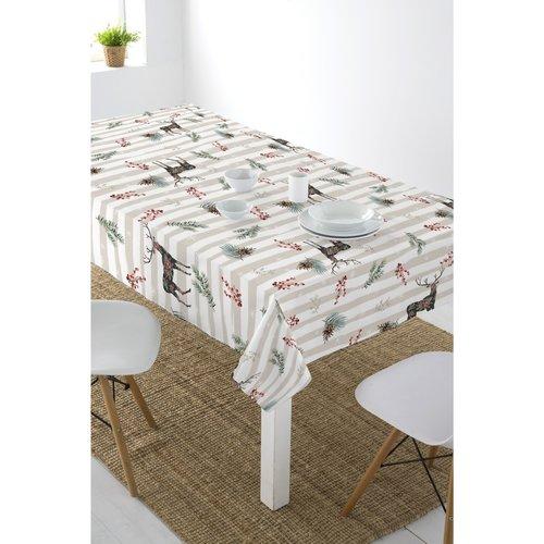 Beschichtetes Tischleinen Blanca Weihnachten