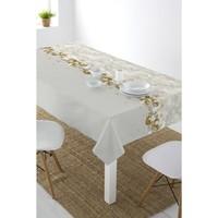 Beschichtetes Tischleinen Frohes Jahr Weihnachten