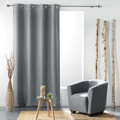 Vorhang Tamina Grau 135 x 240 cm