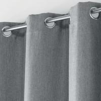 Superdekoshop.de Vorhang Tamina Grau 135 x 240 cm