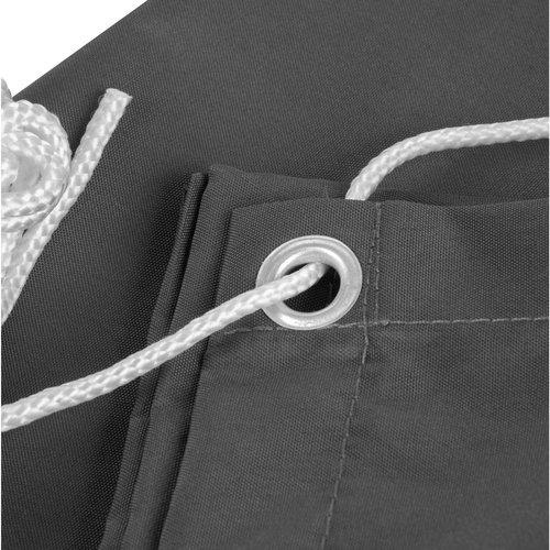 Balkonsichtschutz Rechteck Anthrazit Polyester