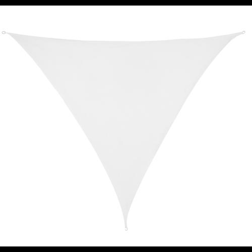 Sonnensegel Dreieck Weiß HDPE 3x3x3m