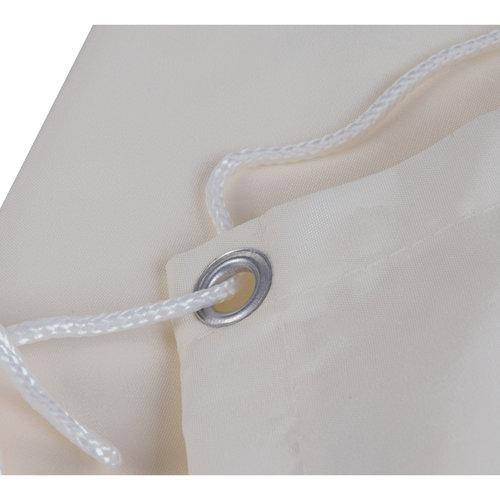 Balkonsichtschutz Rechteck Creme HDPE