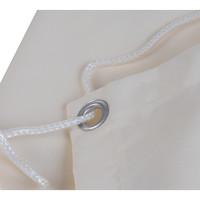Balkonsichtschutz Rechteck Creme Polyester