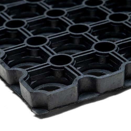 Fußmatte -Gummi-Ringmatte