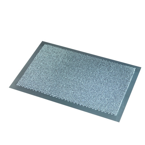Fußmatte Faro Schwarz-Grau - 7 mm Dick