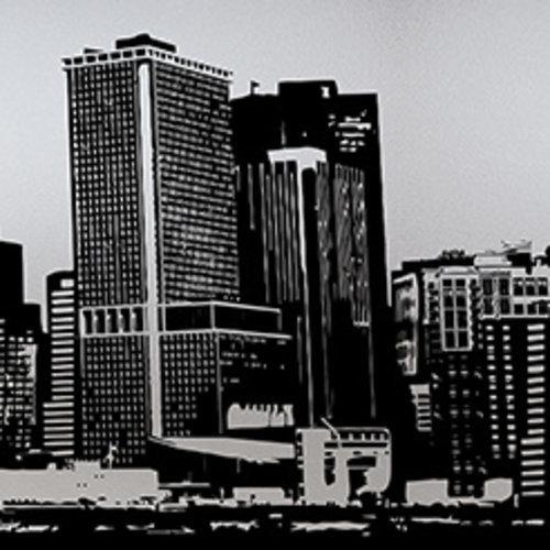 Fensterfolie Anti-Verdunkelungs 46CM x 1.5M - Ciudad