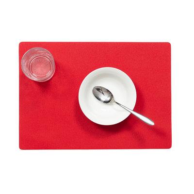 Tischset Uni Rot