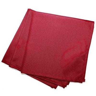 Servietten Essentiel 40x40cm Rot polyester