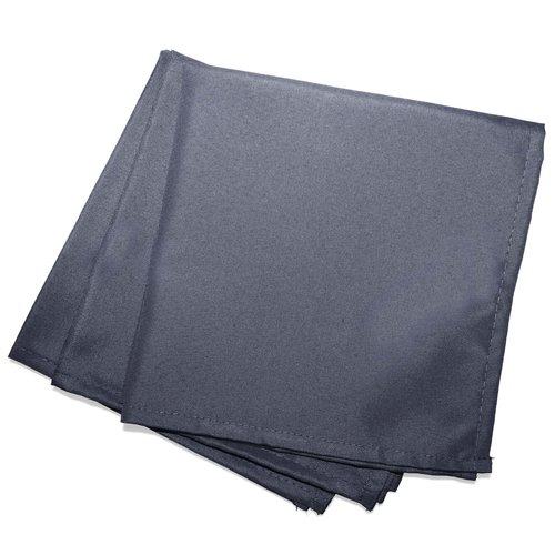 Servietten Essentiel 40x40cm Polyester Dunkelgrau