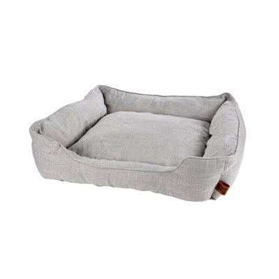 hundekissen-Hundematte-Cosy 65x60cm licht Grau