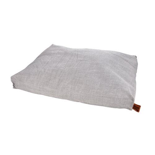 hundekissen-Hundematte-Cosy 84x68cm licht Grau