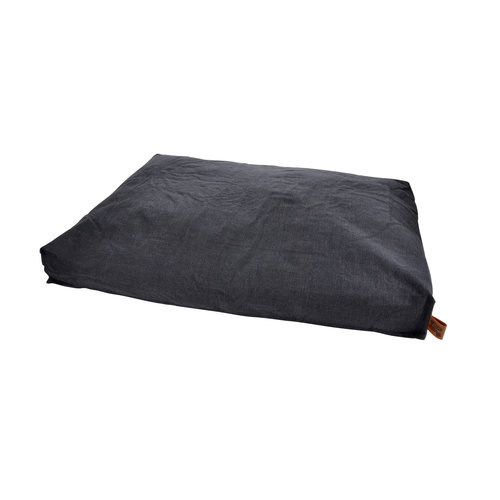 hundekissen-Hundematte-Cosy 100x80cm Dunkel Grau