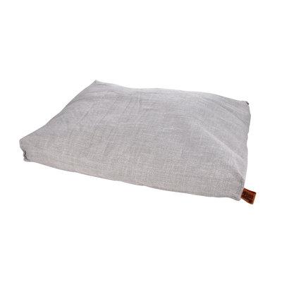 hundekissen-Hundematte-Cosy 100x80cm licht Grau