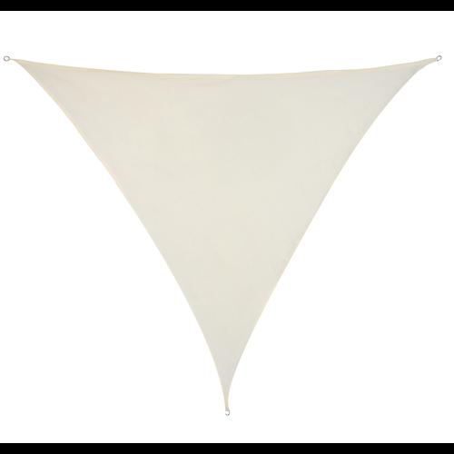 Sonnensegel Dreieckig Creme HDPE 3x3x3m
