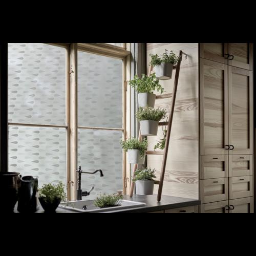 LineaFix Fensterfolie Statisch Tears - 46CM breit