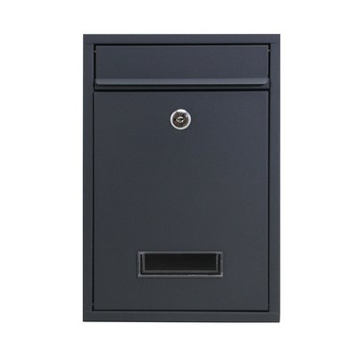 Suprezzo Briefkasten Hugo Schwarz - 2 Schlüssel
