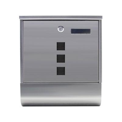 Suprezzo Briefkasten Santos Silber - 2 Schlüssel