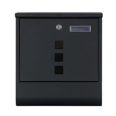 Suprezzo Briefkasten Santos Schwarz - 2 Schlüssel