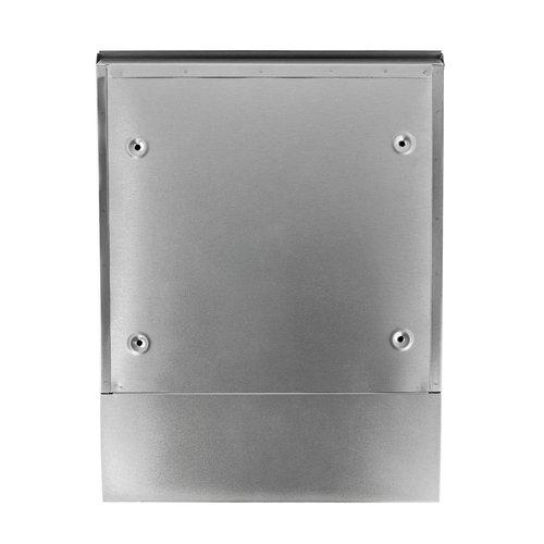 Suprezzo Suprezzo Briefkasten Maitea Silber- 2 Schlüssel
