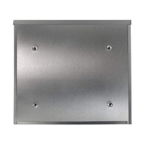 Suprezzo Suprezzo Briefkasten Mireya Silber - 2 Schlüssel