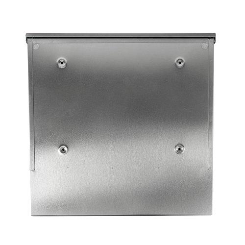 Suprezzo Suprezzo Briefkasten Esteban Silber -  2 Schlüssel
