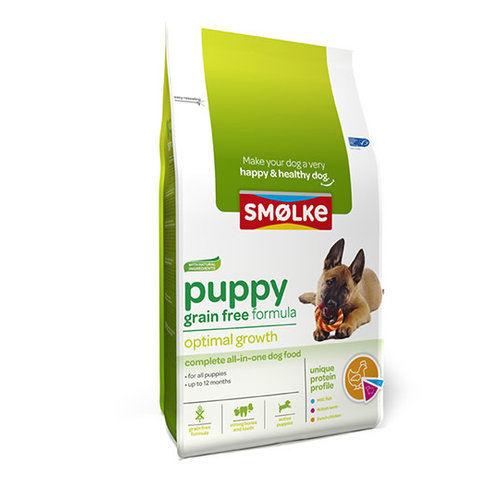 Smolke Smolke Hond Puppy Graanvrij 12kg.
