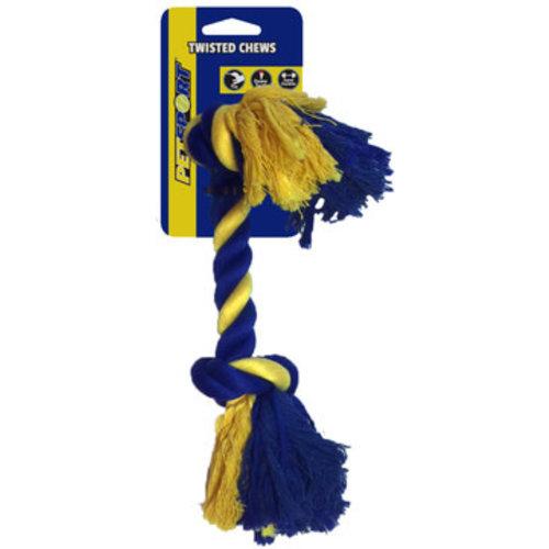 Petsport USA 2-Knot Cotton Rope 22 cm